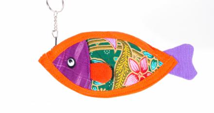 Fish Keychain Purse (Pre-Order)
