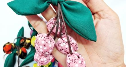 พวงกุญแจดอกทิวลิป