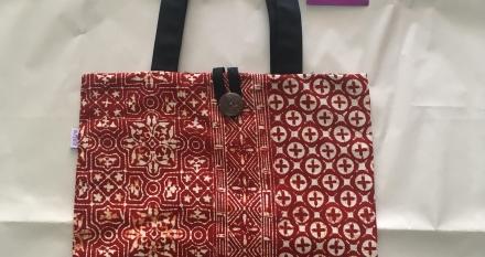 กระเป๋าถุงผ้า 2 in 1