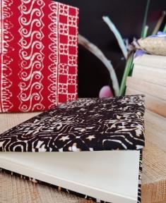สมุดโน้ตผ้าปาเต๊ะ
