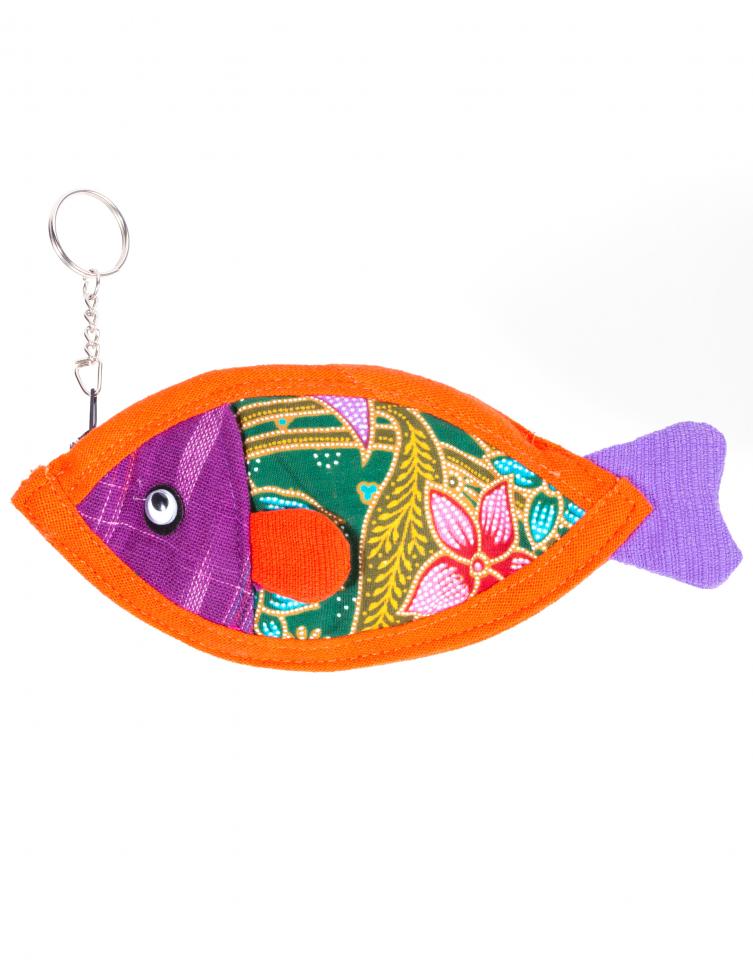 พวงกุญแจรูปปลา (พรีออเดอร์)